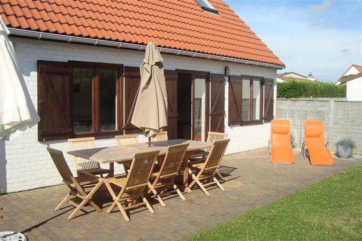 Immo primo bvba de haan vakantiewoning zeer mooie for Huis met tuin te huur rotterdam